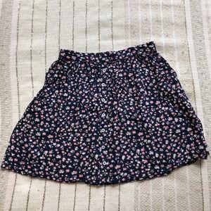 Flowery Hollister Skirt